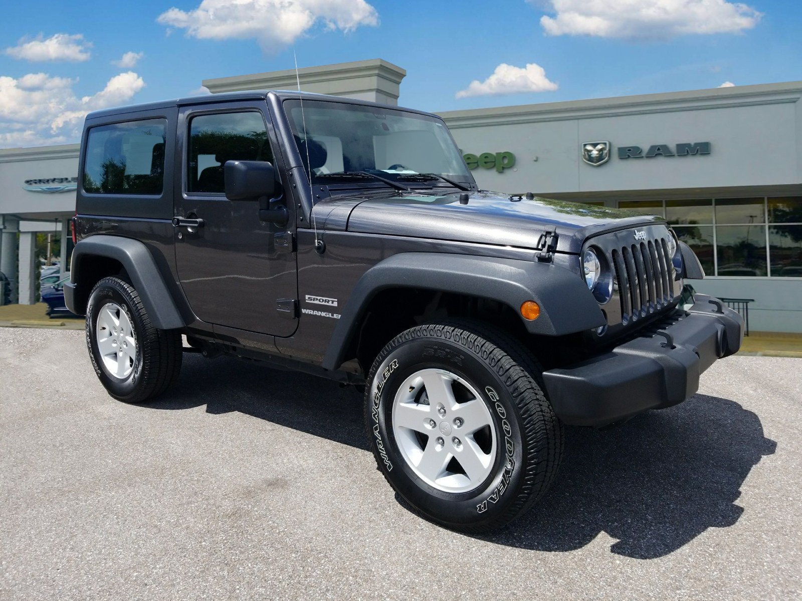 Certified Pre Owned 2017 Jeep Wrangler Sport