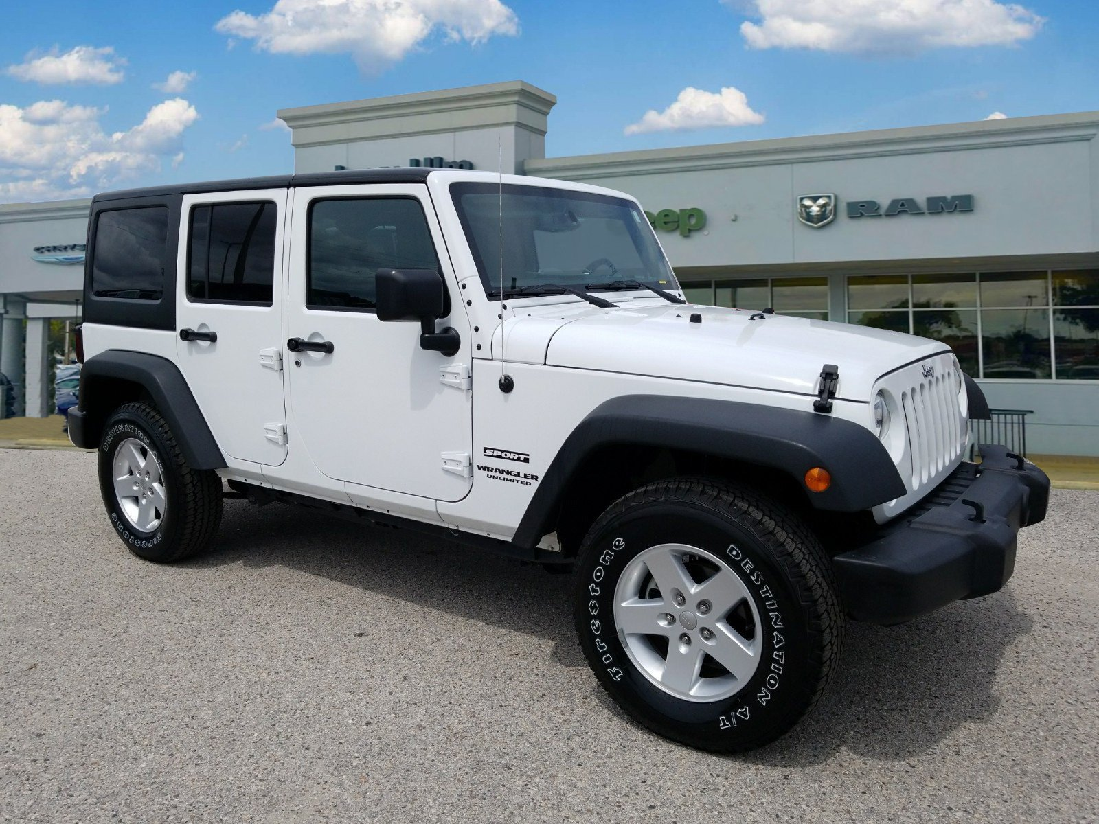 Certified Pre Owned 2017 Jeep Wrangler 4D Sport Utility in Tampa