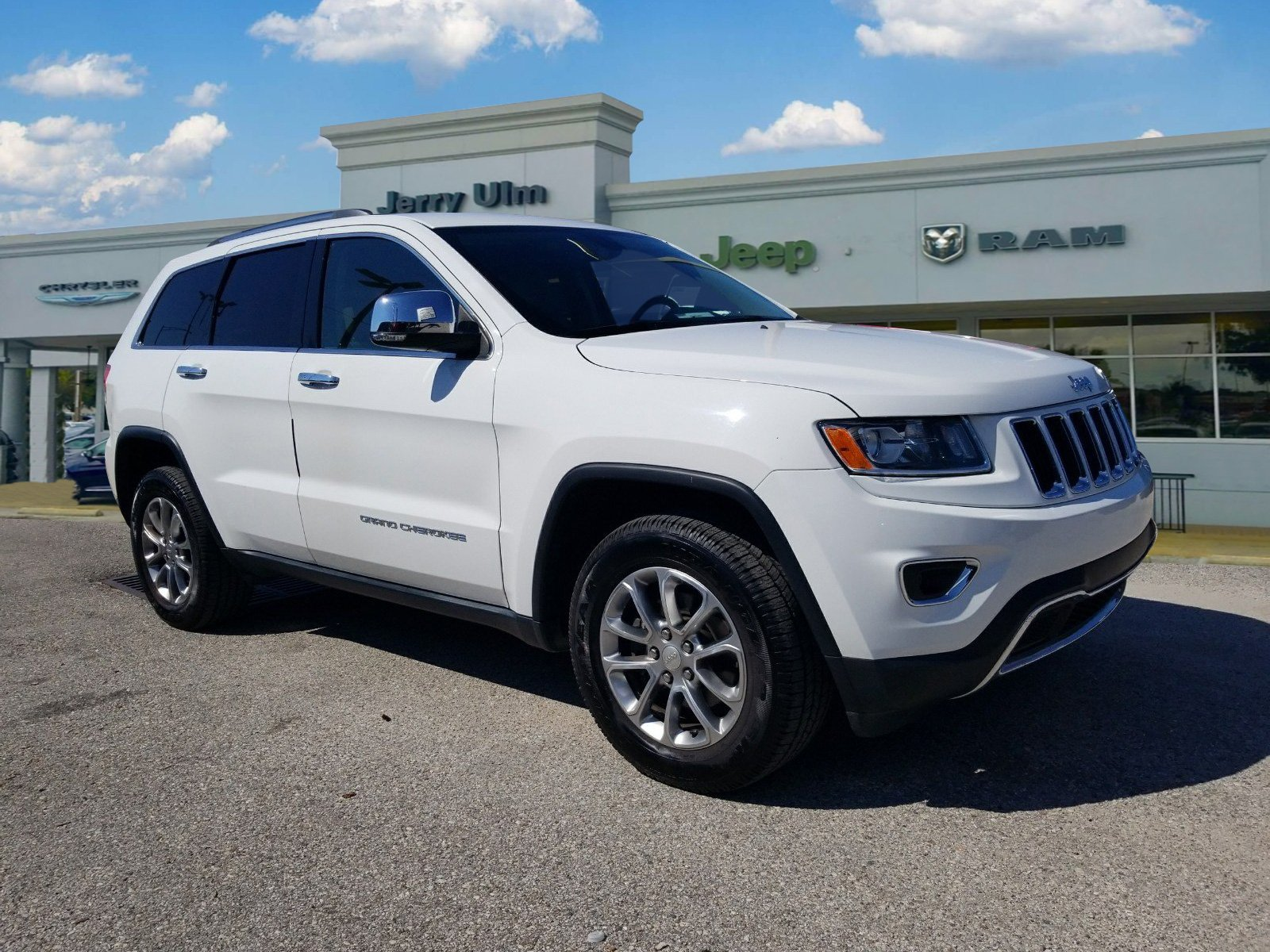 Certified Pre Owned 2014 Jeep Grand Cherokee Limited