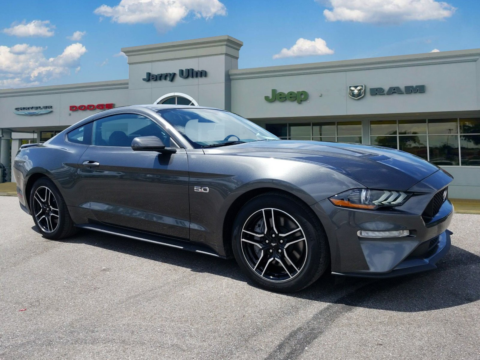 Pre owned 2018 ford mustang gt premium