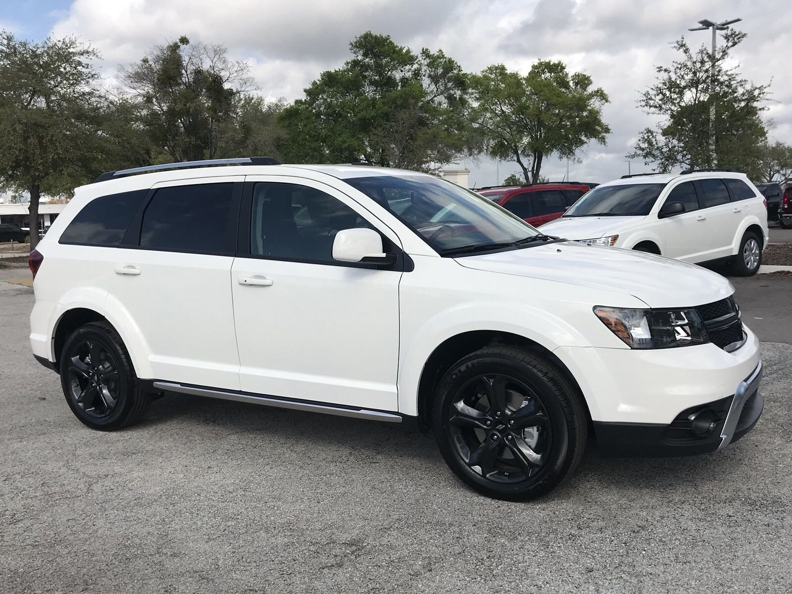 New 2018 Dodge Journey Crossroad Sport Utility In Tampa